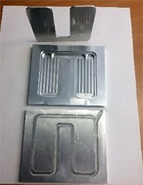 FSW Friction stir welded (Liquid cold plate)